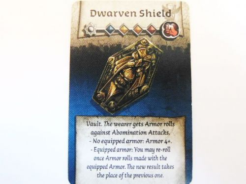 NPC-1 Survivor Equipment Card (Dwarven Shield)